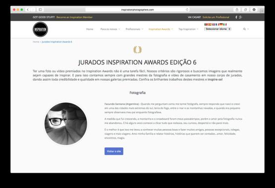 Jurados Inspiration Awards 6ta Edición.
