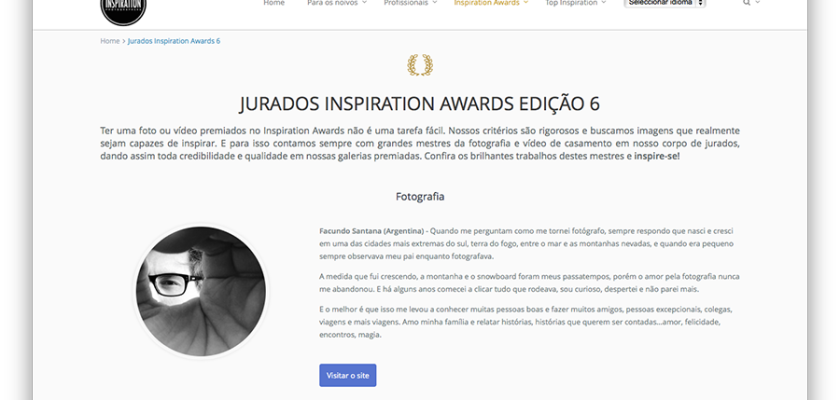 Jurados Inspiration Awards 6ta Edición.
