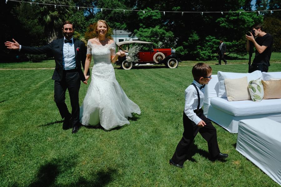 Casamiento en quinta los ciervos